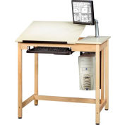 "Drafting Table 42""L x 30""W - 2 Piece Top"