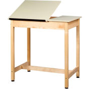 """Drafting Table 36""""L x 24""""W x 36""""H - 2 Piece Top"""
