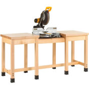 """Diversified Woodcrafts 72"""" W x 24""""D Woodworking Bench,  Maple"""