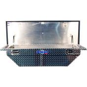 "Better Built SEC Aluminum 69"" Crossover Truck Box, Single Lid Low-Pro Universal - 79010947"