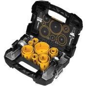 DeWALT® Master Hole Saw Kit, D180005, 14 Pieces & Case - Pkg Qty 4