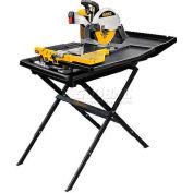 """DeWALT® 10"""" Wet Tile Saw W/Stand, D24000S, 15.0 Amps, 34"""" Long"""