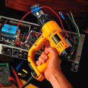 DeWALT® 120V Heat Gun Kit W/LCD display, D26960K, 13 Amps, 17.7 CFM, 1550W, 150-1100°F