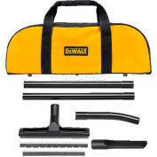 DeWALT® Dust Extractor 5 Piece Accessory Kit, D279059, With Accessory Bag