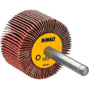 "DeWalt High Performance Flap Wheel, DAFE1H0410, 3"" X 1"" X 1/4"", 40 Grit, 20000 RPM, 10/PK - Pkg Qty 10"