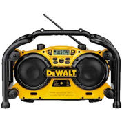 DeWALT® Worksite Radio/Charger, DC011, 7.2 to 18V , 1 Hr or Less Charge Time