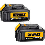 DeWALT® Lithium Ion Battery Pack (3.0 Ah) - 2 Pack, DCB200-2, 20VMAX*