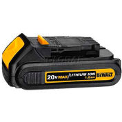 DeWALT® Lithium Ion Compact Battery Pack (1.5 Ah), DCB201, 20V MAX*