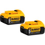 DeWALT® DCB205-2 20V Li-Ion 20V MAX Battery 5Ah Extended Capacity 2Pk