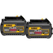 DeWALT® DCB606-2 20/60V Li-Ion Flexvolt Battery 6Ah Extended Capacity 2Pk