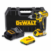 DeWALT DCD791D2 20V MAX XR Li-Ion Brushless Compact Drill Kit (2.0 AH)