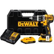 DeWALT DCD796D2 20V MAX XR Li-Ion Brushless Compact Hammer Drill Kit (2.0 AH)