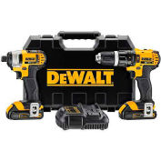 DeWALT® 20V MAX* Lithium Ion Combo Kit (1.5 Ah), DCK285C2, 2-Tool Kit