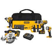 DeWALT® 20V MAX* Premium Combo Kit, DCK592L2, 5-Tool Kit