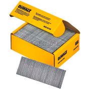 "DeWalt Straight Finish Nails, DCS16125, 16 Gauge, 1-1/4""L, 2500/Box - Pkg Qty 4"