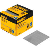 "DeWalt Straight Finish Nails, DCS16250, 16 Gauge, 2-1/2""L, 2500/Box - Pkg Qty 4"