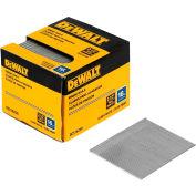 """DeWalt Straight Finish Nails, DCS16250, 16 Gauge, 2-1/2""""L, 2500/Box - Pkg Qty 4"""
