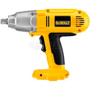"DeWALT® Cordless Impact Wrench Tool Only, DW059B, 1/2"" Drive, 1650 RPM, 18V, 10-3/4"" Long"