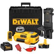 "DeWALT® Cordless XRP™ Self-Leveling Interior Laser, DW079KI, 200' Range, 1/8"" Accuracy"