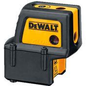 "DeWALT® Self Leveling Level, Plumb, & Square, 4 Beam Laser, DW084K, 100ft Range, 1/4"" Accuracy"