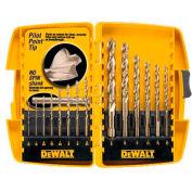 DeWALT® Pilot Point® Drill Bit Set, DW1169, 14 Piece Set