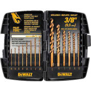 "DeWALT® Cobalt Pilot Point® Drill Bit Set up to 3/8"", DW1263, 14 Piece Set"