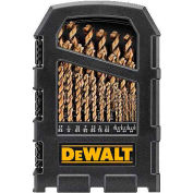 "DeWALT® DWA1269, Cobalt Pilot Point® Drill Bit Set up to 1/2"", 29 Piece Set"