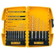 DeWALT® Titanium Drill Bit Set, DW1363, 13 Piece Set