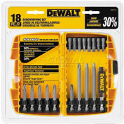 DeWALT® Screwdriving Set w/Toughcase®, DW2174, 18 Pieces