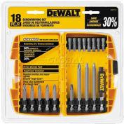 DeWALT® Screwdriving Set w/Toughcase®, DW2174, 18 Pieces
