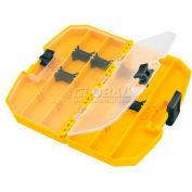 "DeWALT® Medium Tough Case®, DW2190, Yellow, 8.88""W x 7.63""D x 1.69""H - Pkg Qty 5"