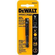 """DeWALT® Impact Ready Adaptor, DW2541IR, 1/4"""" Hex Shank to 1/4"""" Socket"""