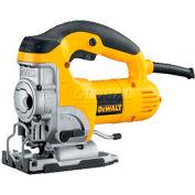 DeWALT® 6.5 Amps Variable Speed Top-Handle Jig Saw Kit, DW331K, 500-3100 SPM
