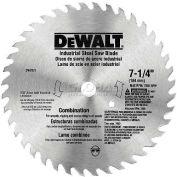 "DeWALT® Steel Combo Saw Blade, DW3325, 5/8"" Arbor, 7-1/4"" Diameter, 40 TPI - Pkg Qty 5"