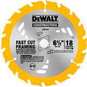 """DeWALT® Carbide Thin Kerf Circular Saw Blade, DW3571, 7-1/4"""" Diameter, 16 TPI - Pkg Qty 25"""