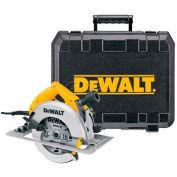 """DeWALT® 7-1/4"""" Circular Saw Kit, DW364K, 5800 RPM, 2-7/16"""" Cut Depth"""