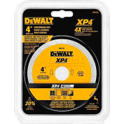 "DeWALT® Extended Performance™ Porcelain Tile Blade, DW4735, 4"" Diameter, 15,200 RPM"
