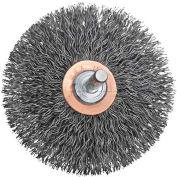 "DeWalt HP Crimped/Circular Wheel, DW4903, 3"" X 1/4"", .014"" Carbon Wire, 12/PK"