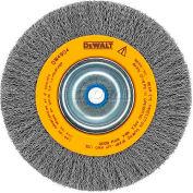 "DeWALT® HighPerformance™ Bench Grinder Brush, DW4908, 10"" Diameter, 3/4"" Arbor, 3600 RPM"