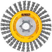 """DeWalt DW49202B HP Stringer Wire Wheel 6"""" X 5/8-11"""" .020"""" Carbon Wire  Carbon Steel - Pkg Qty 6"""