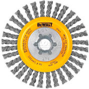 "DeWalt DW4925B HP Stringer Wire Wheel 4"" X 5/8-11"" .020"" Carbon Wire 6/PK Carbon Steel - Pkg Qty 6"