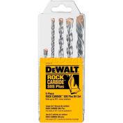 """DeWALT® SDS+ Hammer Bit Set, DW5470, 3/16""""-1/2"""" Diameter, 4"""" to 6-1/2"""" Long, 5 Pieces - Pkg Qty 5"""