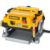 """DeWALT® 13"""" Two Speed Thickness Planer, DW735, 15.0 Amps, 20,000/10,000 RPM"""