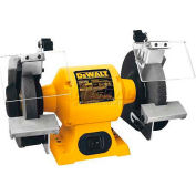 "DeWALT® Bench Grinder, DW756, 6"" Wheel Diameter, 5/8 HP, 3450 RPM"
