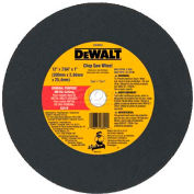 "DeWalt DW8004 - General Purpose Metal Cutting Wheel - 12"" Diameter - 7/64"" Thick - 5000 RPM"