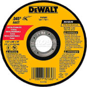 "DeWalt DW8062 Metal & Stainless Cutting Wheel 4-1/2"" DIA..045"" Thick  Aluminum Oxide - Pkg Qty 25"