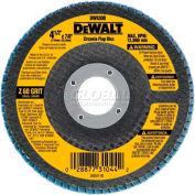 """DeWalt DW8308 Flap Disc Type 29 4-1/2"""" x 7/8"""" 60 Grit  Zirconia - Pkg Qty 10"""
