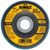 """DeWalt DW8309 Flap Disc Type 29 4-1/2"""" x 7/8"""" 80 Grit  Zirconia - Pkg Qty 10"""
