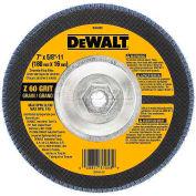 """DeWalt DW8330 Flap Disc Type 29 7"""" x 5/8-11"""" 80 Grit  Zirconia - Pkg Qty 5"""