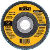 """DeWalt DW8351 Flap Disc Type 27 4-1/2"""" x 7/8"""" 40 Grit Zirconia - Pkg Qty 10"""